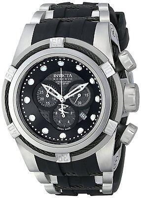 Invicta Men's 12665 Bolt Chronograph Black Carbon Fiber Dial Watch