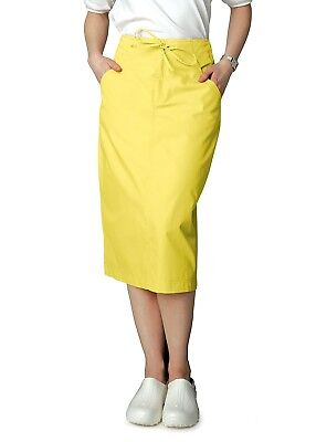 (Adar Universal Discounted Mid-Calf Length Drawstring Scrub Skirt)