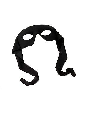 Costume Eye Mask (Zorro Bandit Black Ninja Turtles Eye Mask Masquerade Costume)
