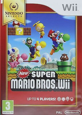 New Super Mario Bros. Nintendo Selects Wii Brand New Sealed Official