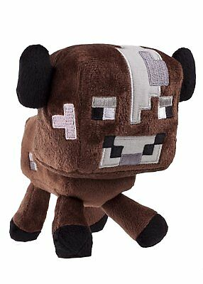 "New Minecraft Baby Cow 7"" Plush Toy"