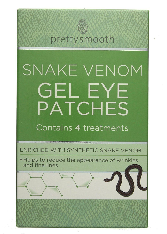 Pretty Smooth Snake Venom Gel Eye Patches - Anti Wrinkle 4 Treatments