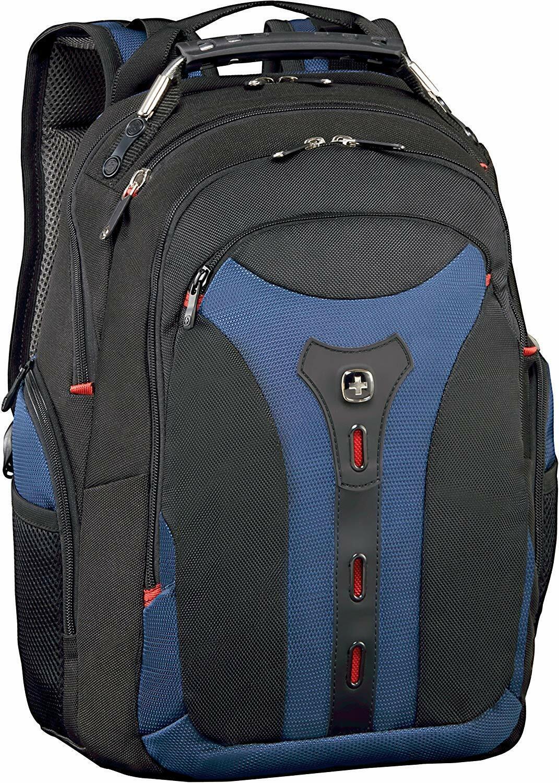 "Wenger 600625 Pegasus 15"" MacBook Pro Backpack with iPad Pocket Blue"