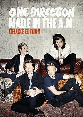 Made In The A M  Deluxe Edition By One Direction  Cd Nov 2015 Columbia Usa  New