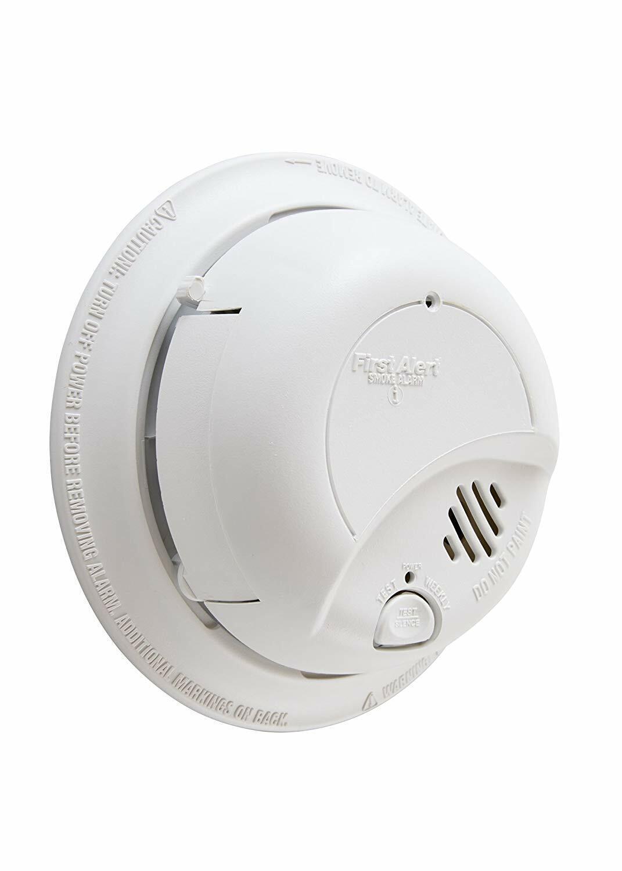 First Alert Brk Hardwired Smoke Alarm No Carbon Monoxide Det