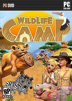 Computer Games - Wildlife Camp PC Games Windows 10 8 7 XP Computer pet sim vet zoo management kid