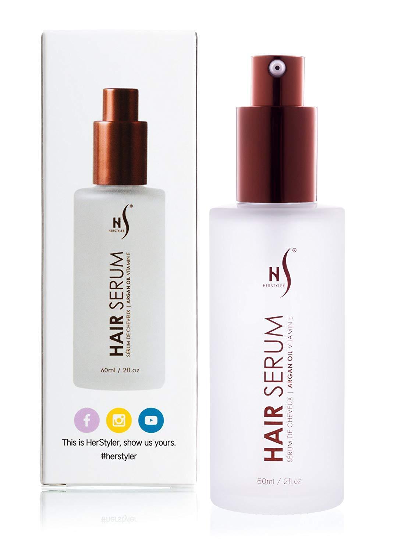 Herstyler Argan Oil Hair Repair Serum W/ Vitamin E Hair Seru