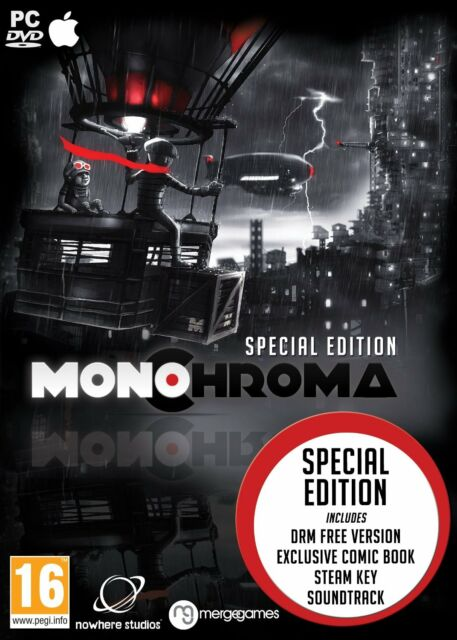 Monochroma SPECIAL EDITION (Mac/PC DVD) BRAND NEW SEALED