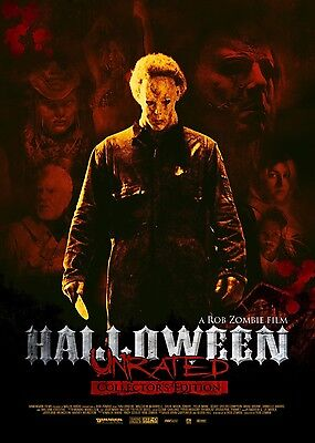 Halloween :Rob zombie - UNRATED Collectors edition 3DISC Japanese DVD