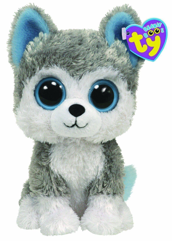 Ty Baby Beanie Boos #10 Slush The Husky Dog - 6 Inch Plush Toy | eBay