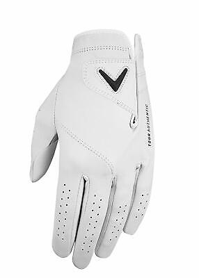 - 2019 Callaway Mens Tour Authentic Golf Glove Leather Glove - Pick Size