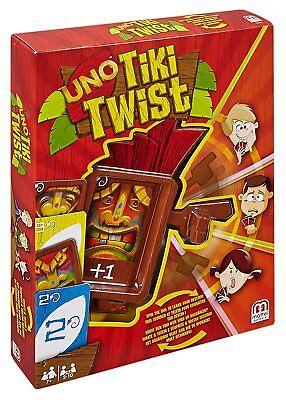 Mattel Spiele CGH09 - UNO Tiki Twist Kartenspiel für die ganze Familie! Neu