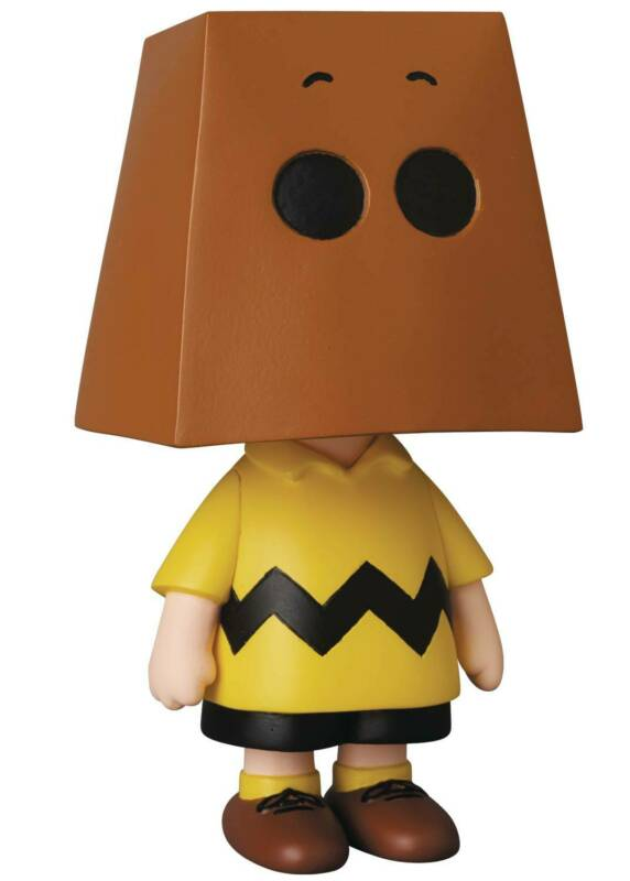 Medicom Peanuts Grocery Bag Charlie Brown UDF Figure