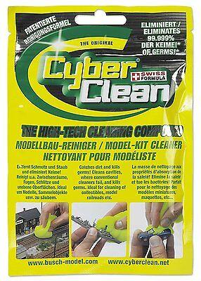Cyber Clean Modellbau-Reiniger von Busch 80g im Beutel 1690 NEU