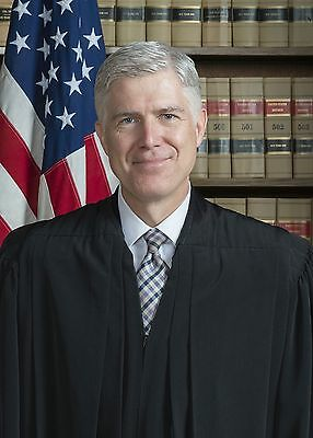 Supreme Court Justice Neil Gorsuch PHOTO Official Associate Justice Portrait