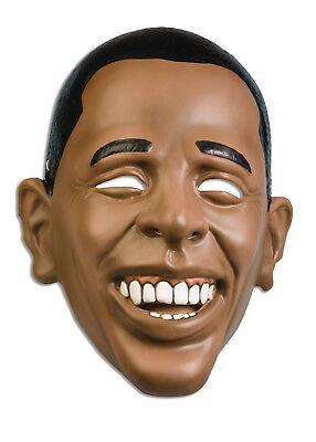 Plastic Mask Obama Mens Barack Obama Costumes Mask Standard Size (Obama Masks)