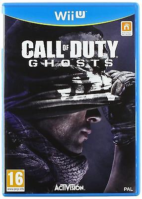 Call of Duty Ghosts (Nintendo Wii U) Brand New & Sealed - UK Seller - FREE P&P