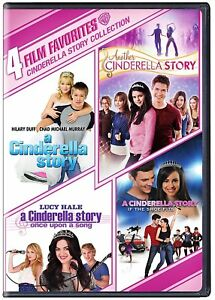 A Cinderella Story: If The Shoe Fits 4-Film Bundle 4pk (DVD) (Kids & Family) NEW