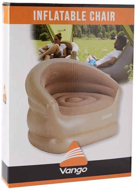 Inflatable Air Bag Sofa Chair Seat w/ Repair Patch for Outdoor Camping/Seating