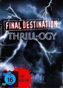 FINAL DESTINATION THRILL-OGY (Final Destination 1+2+3) 3 DVDs NEU+OVP - Neumarkt im Hausruckkreis, Österreich - FINAL DESTINATION THRILL-OGY (Final Destination 1+2+3) 3 DVDs NEU+OVP - Neumarkt im Hausruckkreis, Österreich