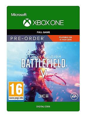 BATTLEFIELD V 5 DELUXE EDITION XBOX ONE FULL GAME DOWNLOAD NEW