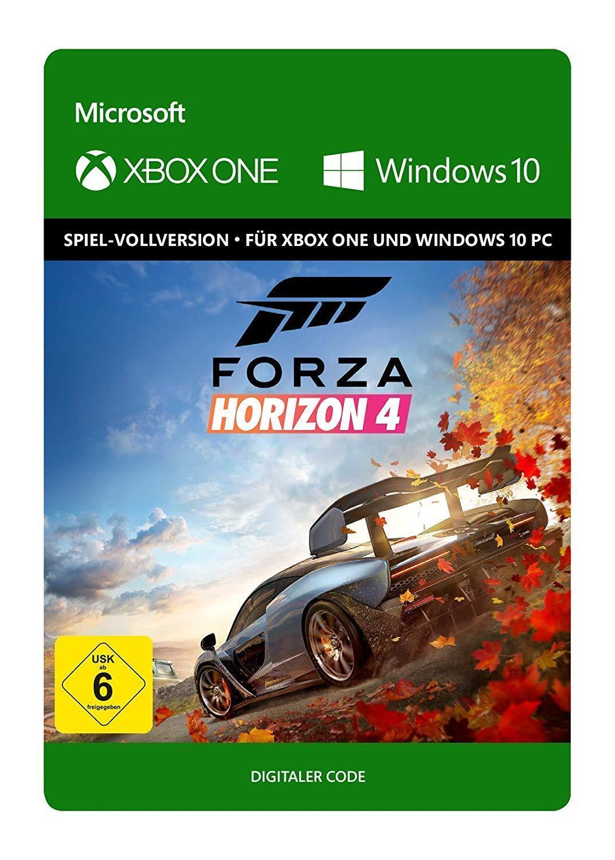 Forza Horizon 4 Key - Xbox One & Windows 10 PC Spiel - Download Karte [EU/DE]