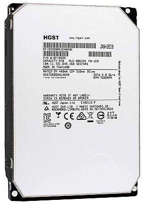 HGST Ultrastar He6 6TB SATA 6Gb/s 64MB HUS726060ALA640 0F18335 3.5