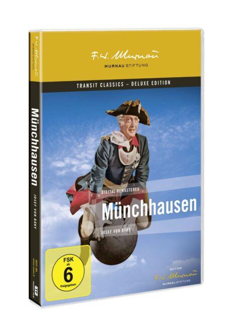 Münchhausen 1943 [DVD] NEU DEUTSCH [Deluxe Edition] Hans Albers, Baron