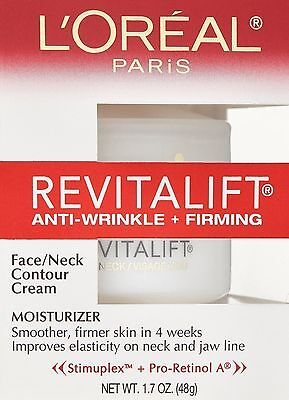 L'Oreal Revitalift Face Neck Contour Cream Anti-Wrinkle Firming
