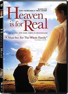 Heaven Is For Real (2014) Based On A True Story NEW DVD