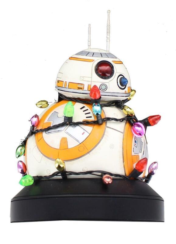 Star Wars Light Up Holiday BB-8 Resin Mini Bust