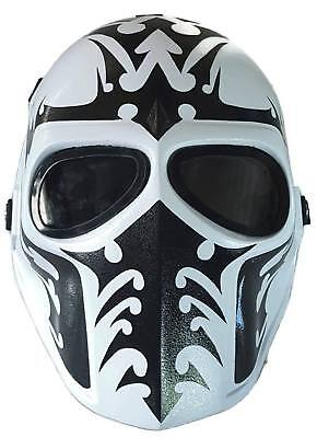 AIRSOFT BB GUN PAINTBALL FULL FACE GOGGLE MASK PROTECTIVE GEAR MILITARY TACTICAL