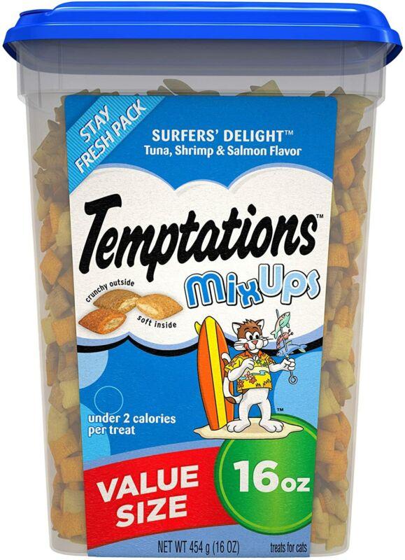 MixUps Crunchy and Soft Cat Treats 16