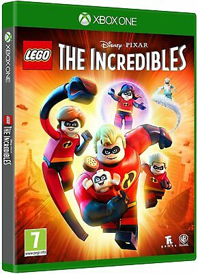 THE INCREDIBLES XBOX ONE GAME BRAND NEW SEALED