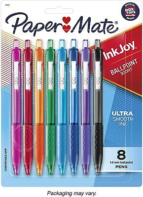 Sanford Papermate 8 Count Inkjoy 300rt Revolutionary Ink System Pen