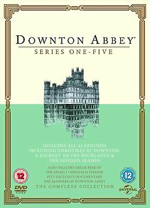 Downton Abbey: Series 1 2 3 4 5 + Christmas at Downton Complete Collection | DVD