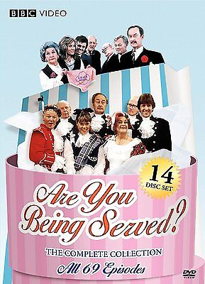 Are You Being Served: The Complete Collection All 69 (DVD, 2009, 14-Disc Set)New