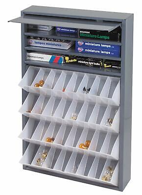 Metal 32 Tilt-out Bins Storage Cabinet Compartment Nuts Fasteners Screws Bolts