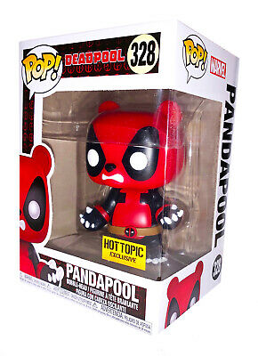 Funko Pop! Marvel Deadpool PANDAPOOL 328 Hot Topic Exclusive New Rare