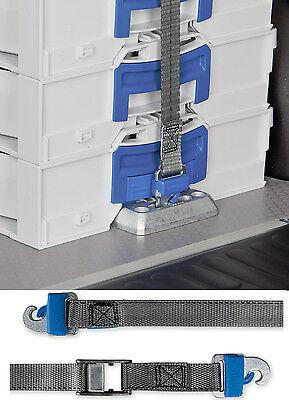 Sortimo L-Boxx Halter ProSafe VPE2 + 3,00m Prosafegurt im SPARSET
