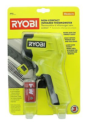 Sealed Ryobi Non-contact Infrared Thermometer Ir002 - W Battery