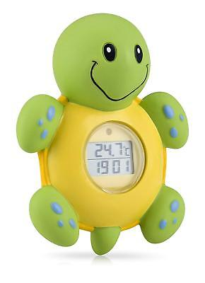 - Nuby 3 in 1 Bath Time Thermometer, Clock and Timer
