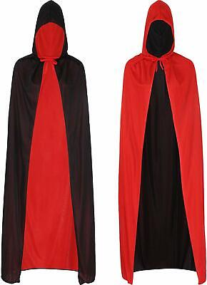 Black And Red Cloak (Cool Vampire Cloaks are available in Red and Black for the Party Drag)