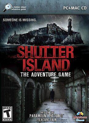 Computer Games - Shutter Island PC Games Windows 10 8 7 XP Computer hidden object seek and find