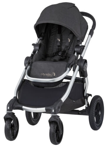 Baby Jogger City Select All Terrain Single Stroller Jet NEW