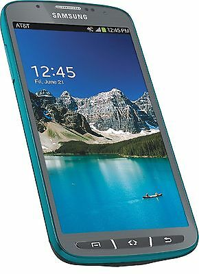 NEW Samsung Galaxy S4 Active i537 4G AT&T GSM Unlocked Android Smartphone Blue