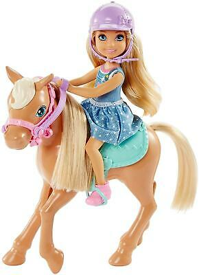 Barbie DYL42 Club Chelsea Doll and Horse Collectible Playset