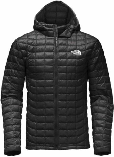 THE NORTH FACE Thermoball Mens XL Hoodie Puffer Jacket/Coat/Parka Black NEW $220