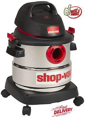Shop-Vac 5 Gallon 4.5 Peak HP Wet Dry Shop Vacuum Stainless Steel Canister Best