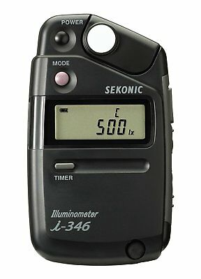Sekonic i-346 JJ10 Illuminometer camera Lighting & Studio Light Meter New F/S